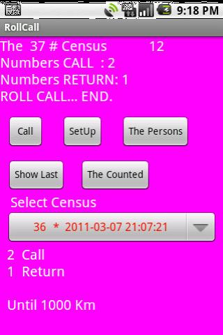 to be counted, make a census - screenshot