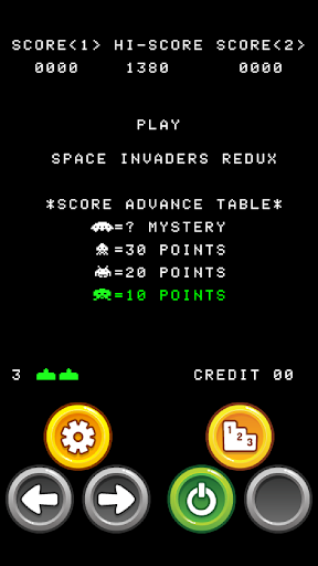 Space Invaders Redux
