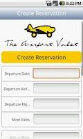 Screenshot of Airport Valet