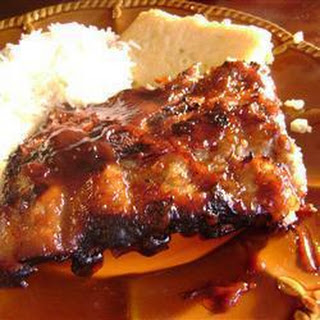 Sticky and Spicy Barbecued Ribs Recipe