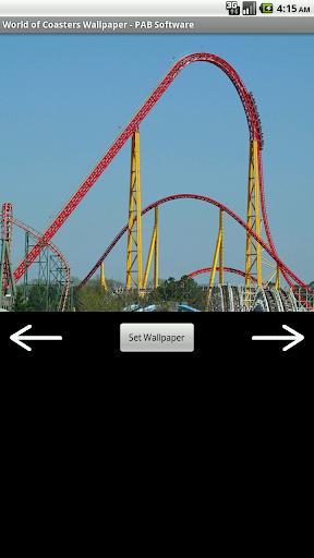 Roller Coaster Free Wallpaper