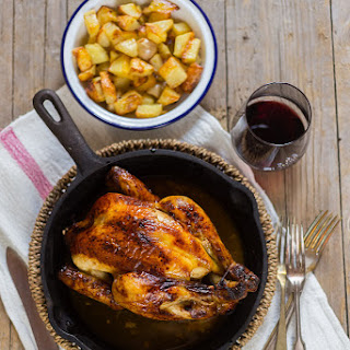 Roast Chicken With Vin Santo.