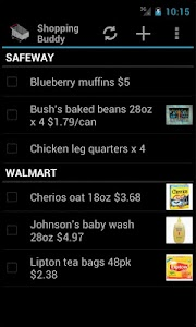 Shopping Buddy (Shared List) screenshot 1