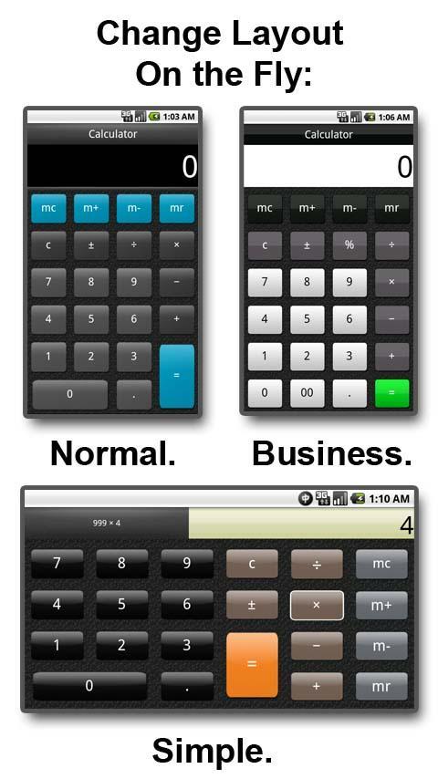 Calculator- screenshot