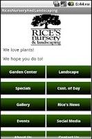 Screenshot of Rice's Nursery & Landscaping