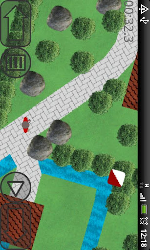 Screenshot #1 of Orienteering way / Android