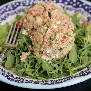 Quinoa Tabbouleh Arugula Salad