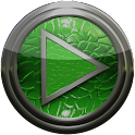 Poweramp skin green lizard icon