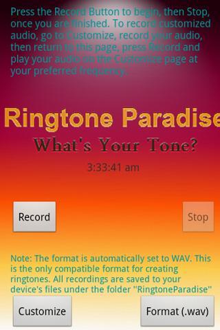 RPD Make Your Own RingtoneLite