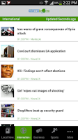 Screenshot of Sierra Leone News | Africa