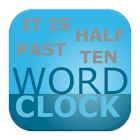 Word clock icon