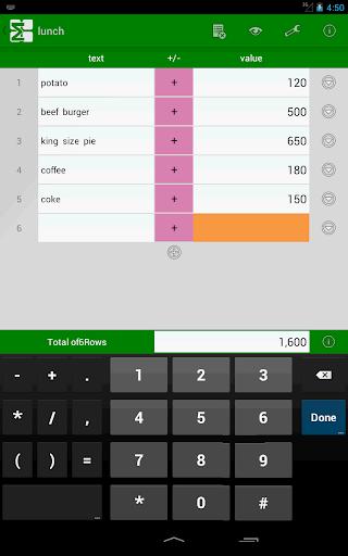 Total Spreadsheet 3.0 Windows u7528 9