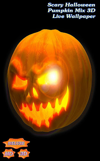 Scary Halloween Pumpkin Mix 3D