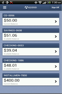 Altamaha Bank Mobile - screenshot thumbnail