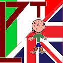 English Italian Hangman icon
