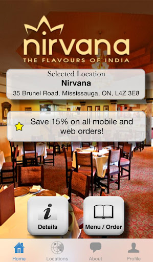 Nirvana -The Flavours of India
