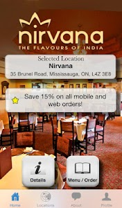 Nirvana -The Flavours of India screenshot 0