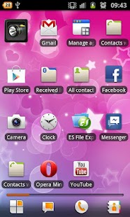 Pink Hearts – Live Wallpaper - screenshot thumbnail