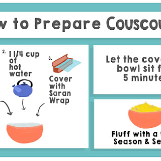 Roasted Apple Couscous Salad