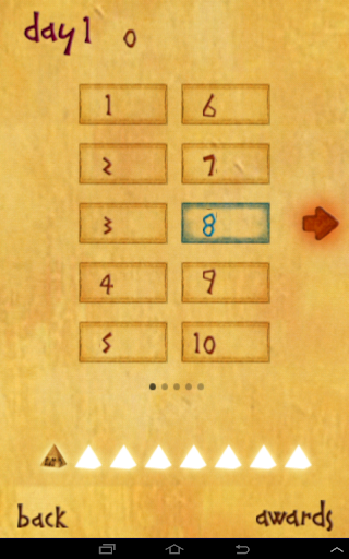 Egyptian Game Puzzle
