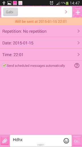 玩免費娛樂APP|下載GO短信加强版粉红 app不用錢|硬是要APP