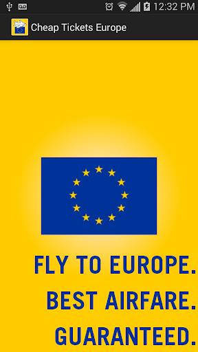 Cheap Tickets Europe