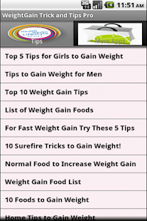 Weight Gain Tricks - screenshot thumbnail