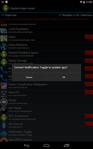 /system/app mover ★ ROOT ★ 1.7.3 screenshots 3