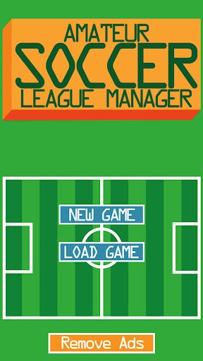 Amateur Soccer League Manager