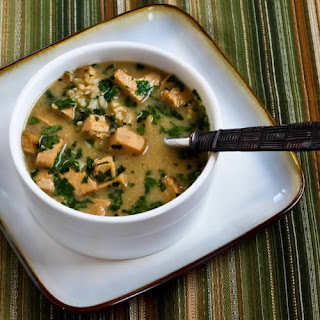 Coconut-Lime Turkey (or Chicken) and Rice Soup.
