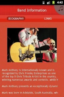 Mark Anthony-Elvis Tribute Art - screenshot thumbnail