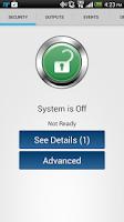 Screenshot of Bosch Remote Security Control