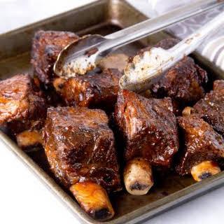Best BBQ Braised Shortribs.