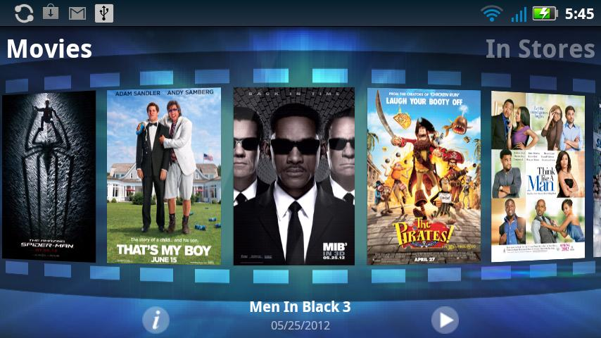 Sony Pictures - screenshot