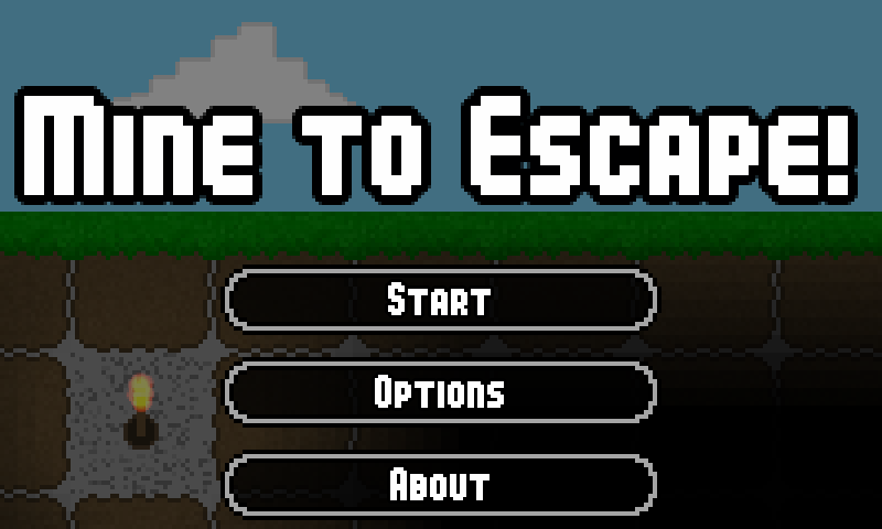 Mine to Escape - screenshot