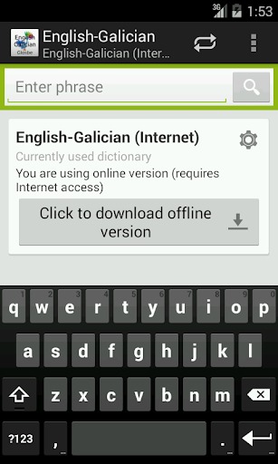 English-Galician Dictionary
