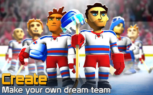 Screenshots of BIG WIN Hockey for iPhone