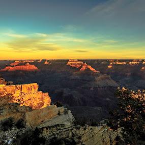 grand canyon arizona by Emerson Cabaling - Landscapes Sunsets & Sunrises