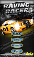 Screenshot of Raving  Racer : 2D Car Racing