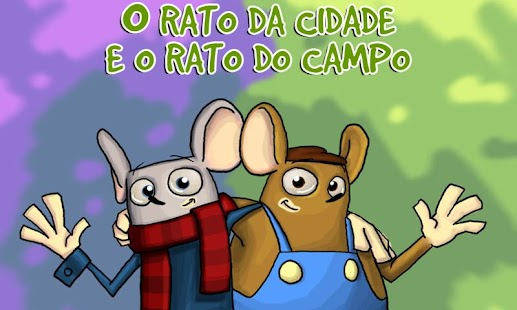 Rato da Cidade e Rato do Campo- screenshot thumbnail