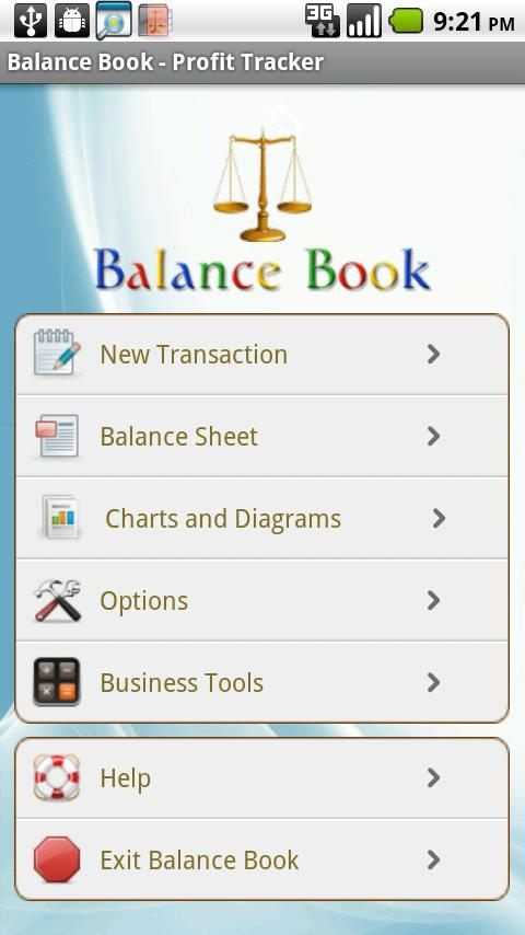 Balance Book - Profit Tracker - screenshot