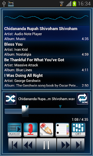 Audio Note Player