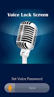 Screenshot of Voice Lock Screen