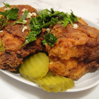 Fried Chicken with New Orleans Confetti.
