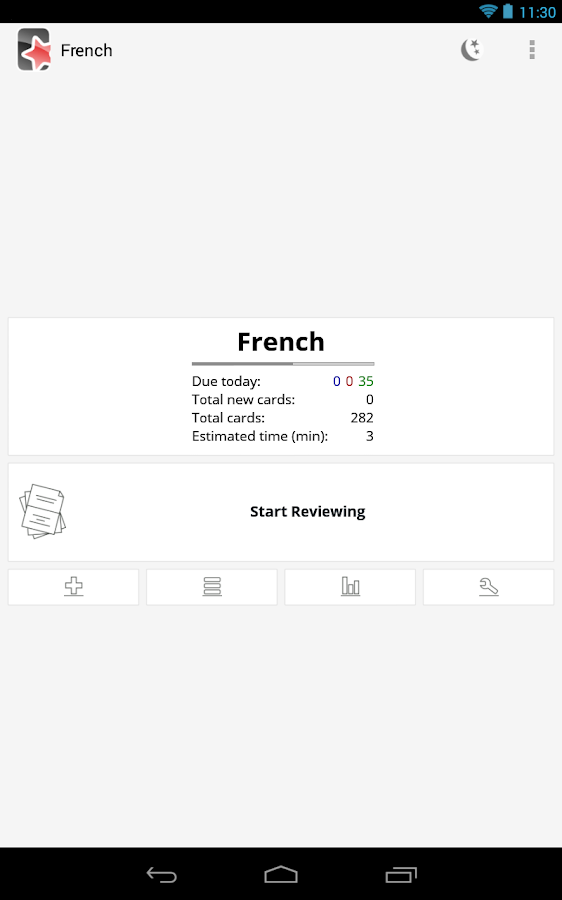AnkiDroid Flashcards - screenshot