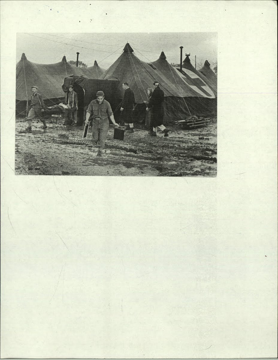War-Wwii-Medical Service-American-Hospitals-Field Italy