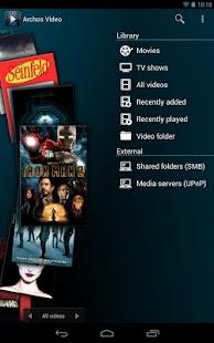 Archos Video Player Screenshot 21