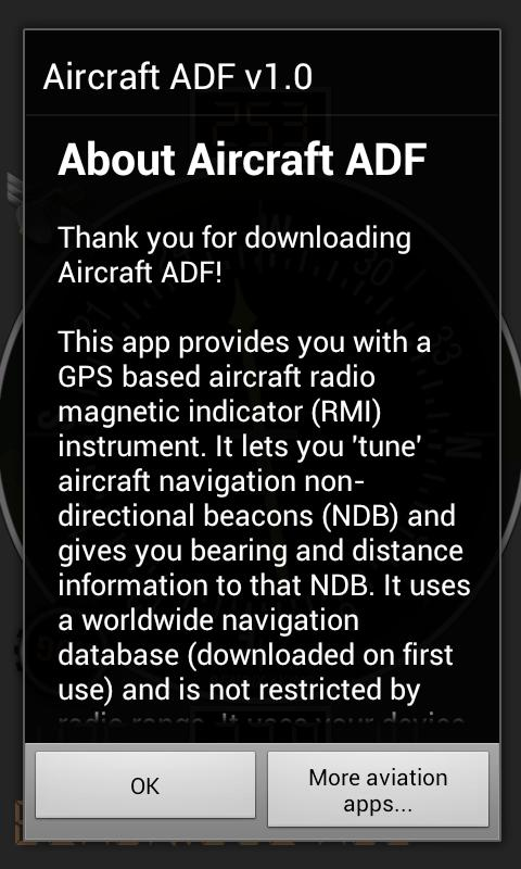 Aircraft ADF Free- screenshot