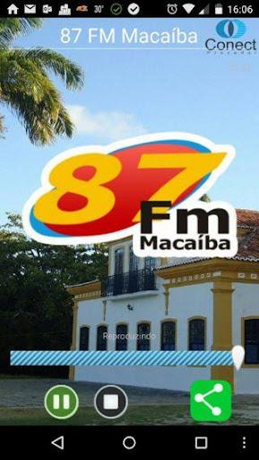 87 FM Macaíba
