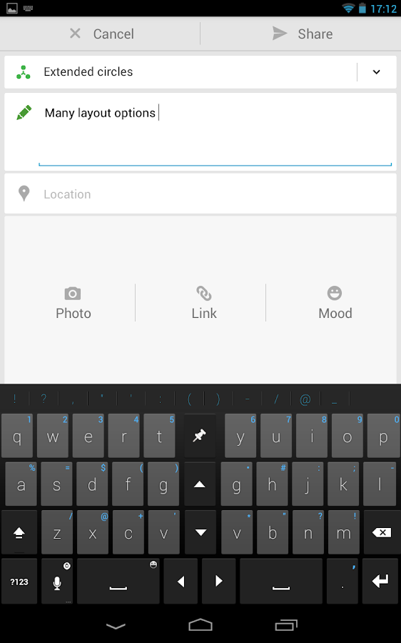 Thumb Keyboard (SALE: 50% Off) - screenshot